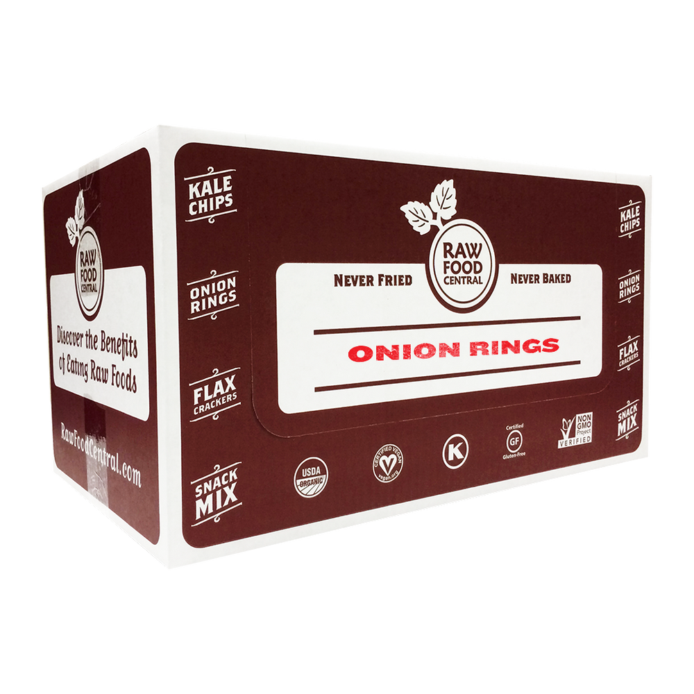 Raw Food Central Onion Rings