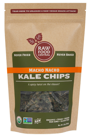 Macho Nacho Kale Chips