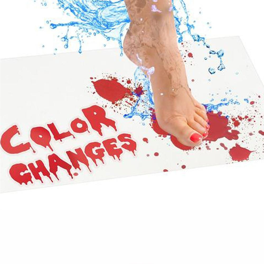 Colour Changing Bloody Bath Mat