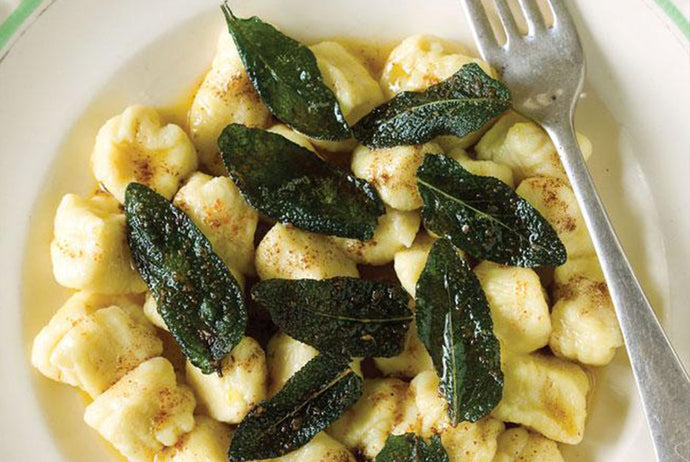 Potato Gnocchi with Burnt Butter, Garlic & Sage