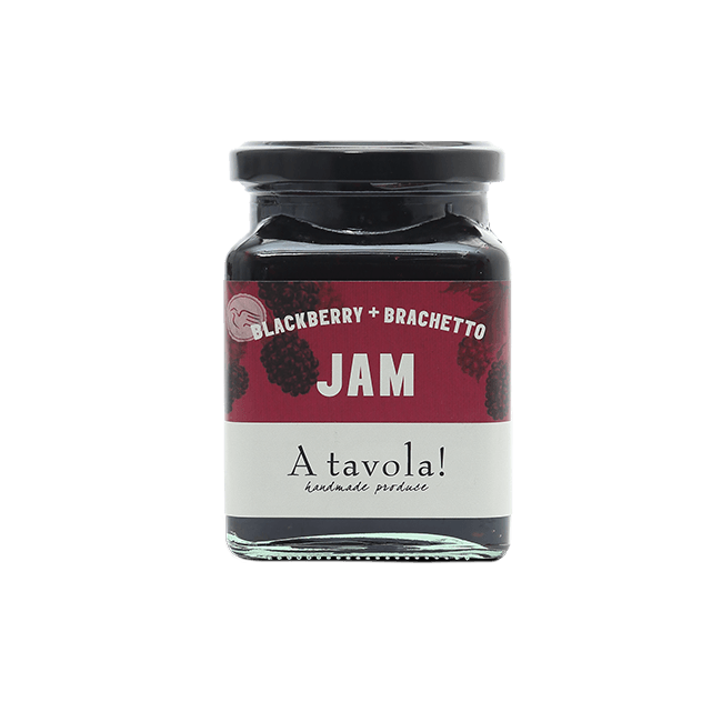 A tavola! Blackberry & Brachetto Jam