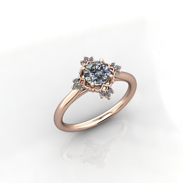 Diamond Ring - eklektic jewelry studio