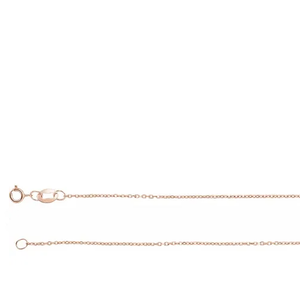14k Diamond Cut Cable Chain - eklektic jewelry studio