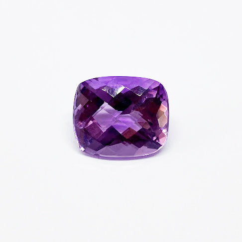 Amethyst - Rectangular Cushion Checkerboard - eklektic jewelry studio