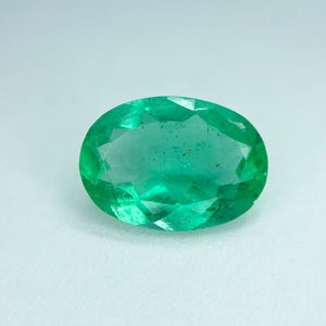 Colombian Emerald - Oval - eklektic jewelry studio