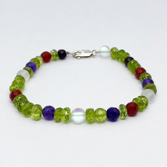 Mixed Gems Bracelet - eklektic jewelry studio