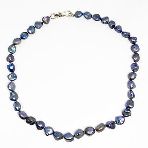 Gray Pearl Necklace - eklektic jewelry studio