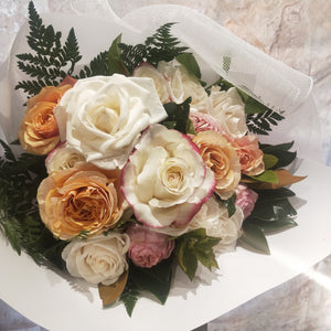 The Coloured Rose Bouquet is the perfect bouquet full of Roses for all occasions, Birthday, Happy Birthday, Anniversary, Sympathy, New baby, Thank-you, Welcome Home, All the Best and can be delivered to any Melbourne Suburbs, Melbourne City, Bayside suburbs and Port Melbourne
