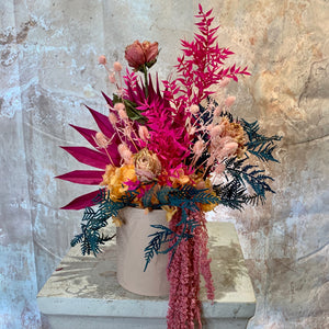 The Hot Pink & Orange Everlasting