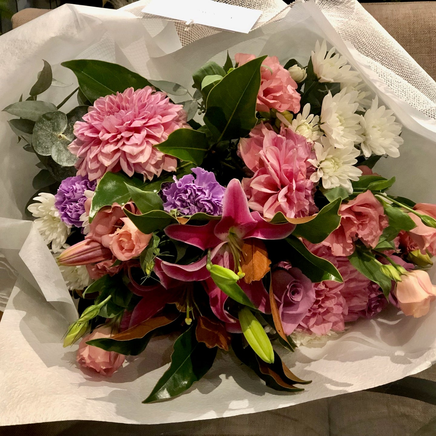 The Pretty and Pastel bouquet is the perfect bouquet for all occasions, Birthday, Happy Birthday, Anniversary, Sympathy, New baby, Thank-you, Welcome Home, All the Best and can be delivered to any Melbourne Suburbs, Melbourne City, Bayside suburbs and Port Melbourne