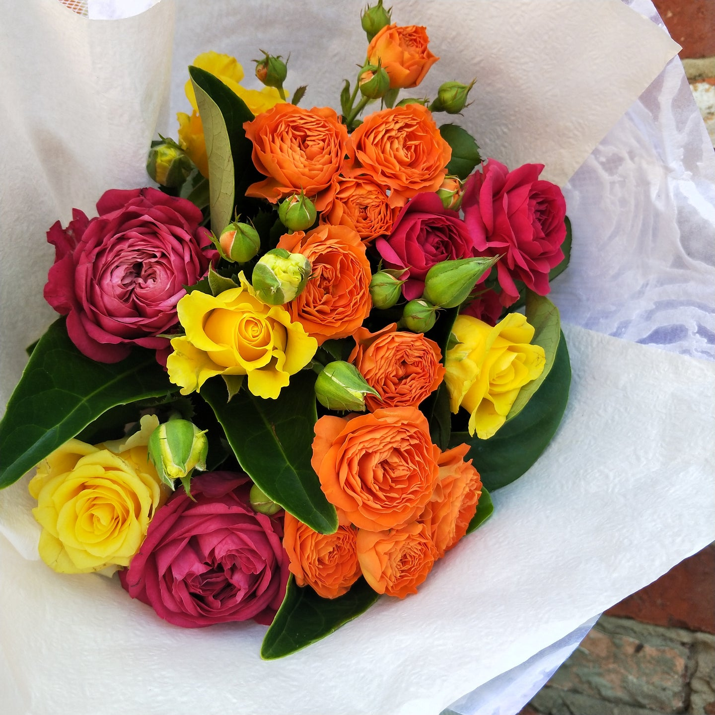 The Rose Fiesta Bouquet