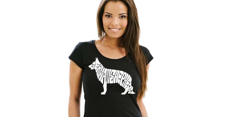German Sheperd Tshirt