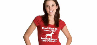 Smart women love Pitbulls