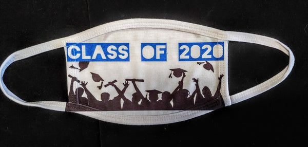 Class of 2020 Fashion Face Mask - Ultra Fast Tshirts and more