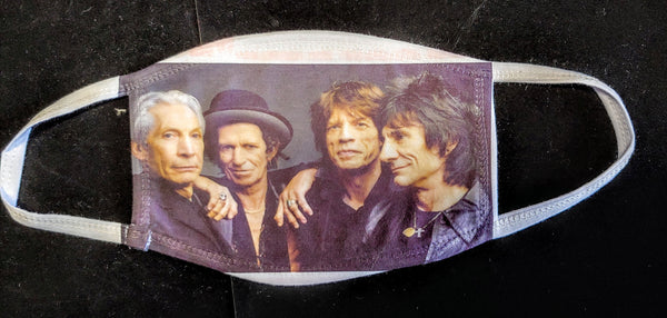 Rolling Stones Fashion Face Mask - Ultra Fast Tshirts and more