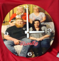 Custom Photo Clocks - Ultra Fast Tshirts and more