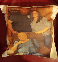 Custom Photo Pocket Pillow - Ultra Fast Tshirts and more