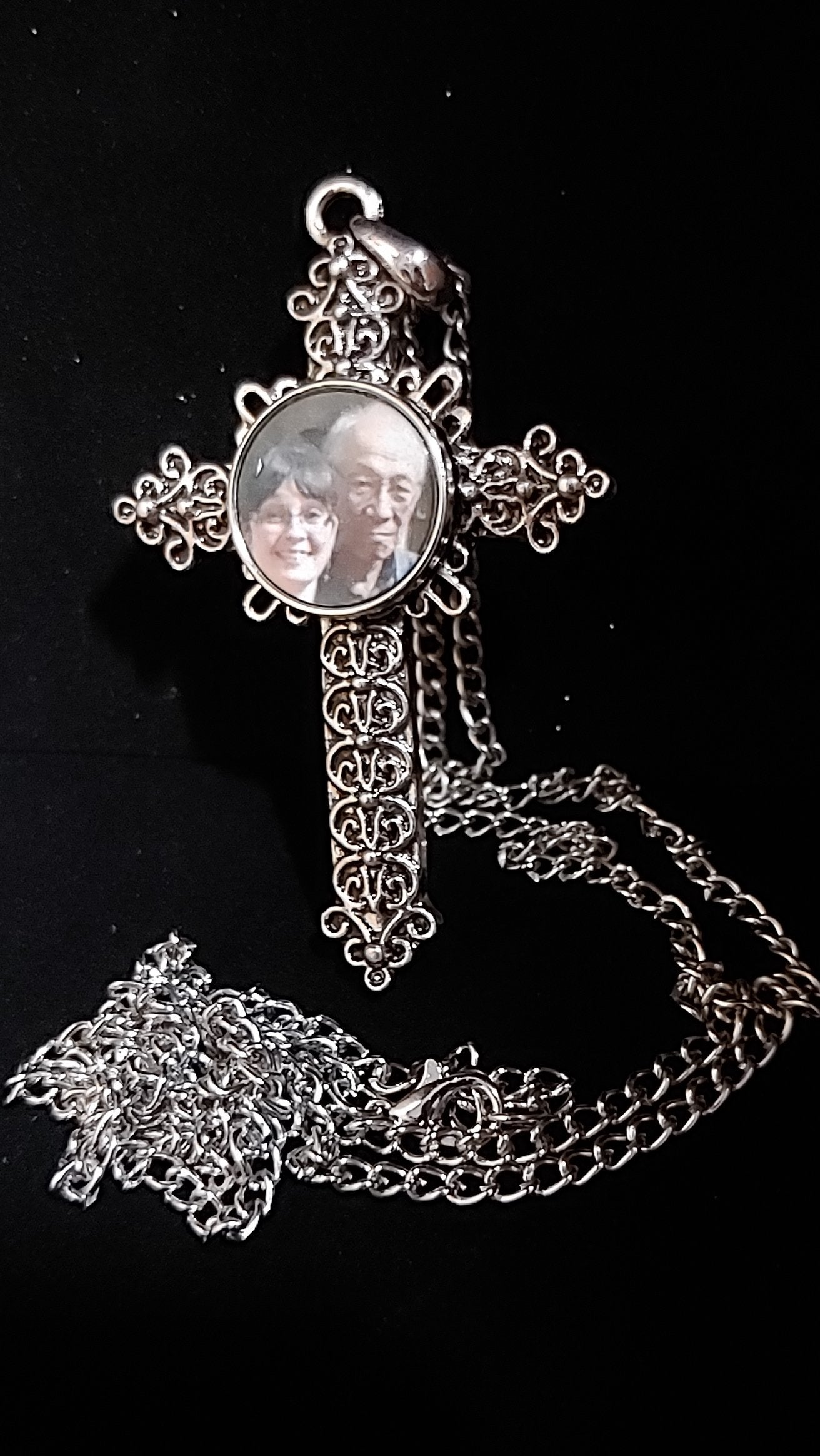 Religious Photo Cross