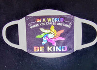 Be Kind Custom Printed Face Masks - Ultra Fast Tshirts and more