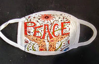 Peace Custom Printed Face Masks - Ultra Fast Tshirts and more