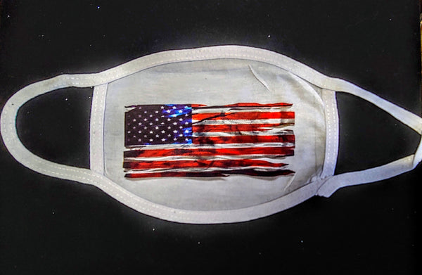 American Flag Custom Printed Face Masks - Ultra Fast Tshirts and more