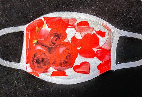 Roses Fashion Face Mask - Ultra Fast Tshirts and more