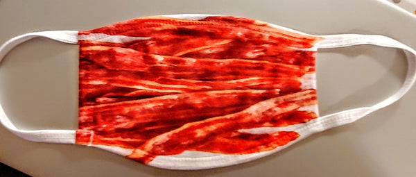 Bacon Fashion Face Mask - Ultra Fast Tshirts and more