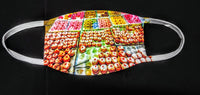 Donuts Fashion Face Mask - Ultra Fast Tshirts and more