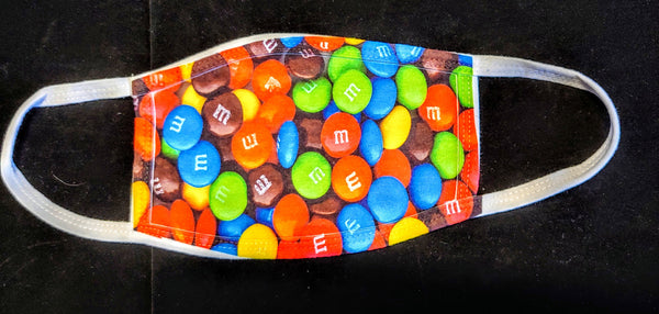 M&M Fashion Face Mask - Ultra Fast Tshirts and more