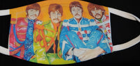 Sgt Pepper face cover - Ultra Fast Tshirts and more