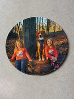 "Custom printed 8"" photo plates on sale Now 2 for $20 - Ultra Fast Tshirts and more"