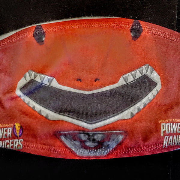 Red Ranger Fashion Face Mask - Ultra Fast Tshirts and more