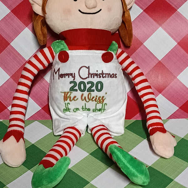 Any name Personalized Elf on the shelf - Ultra Fast Tshirts and more