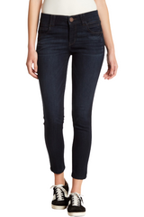"Petite Democracy ""Ab"" Solution Ankle Jeans"