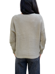 Petite Principle V-neck Sweater