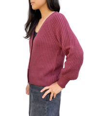 Petite Principle Button Front Cardigan