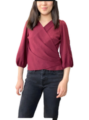 Petite Principle Emma Side Zip Top