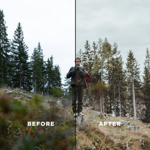 TONES OF THE FOREST | 15 ADOBE LIGHTROOM PRESETS - Hannes Engl