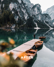 Load image into Gallery viewer, TONES OF THE MOUNTAINS | 10 ADOBE LIGHTROOM PRESETS - Hannes Engl