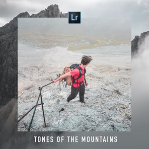 TONES OF THE MOUNTAINS | 10 ADOBE LIGHTROOM PRESETS - Hannes Engl