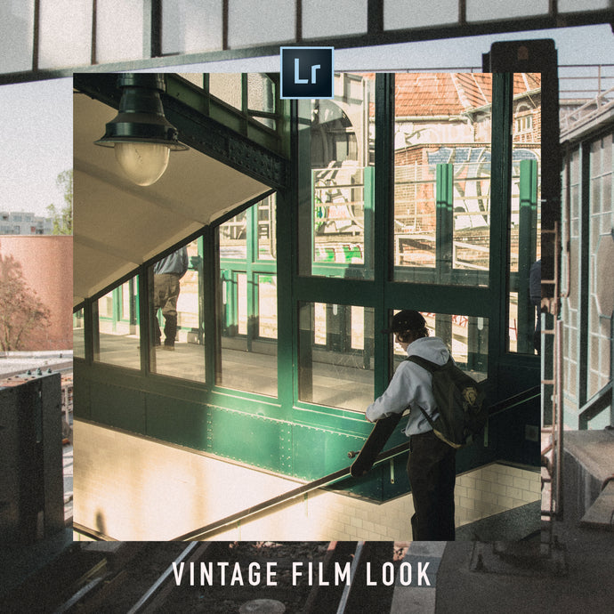 VINTAGE FILM LOOK | FREE ADOBE LIGHTROOM PRESET - Hannes Engl