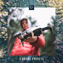 Load image into Gallery viewer, DRONE PHOTOGRAPHY | 3 FREE ADOBE LIGHTROOM PRESETS - Hannes Engl
