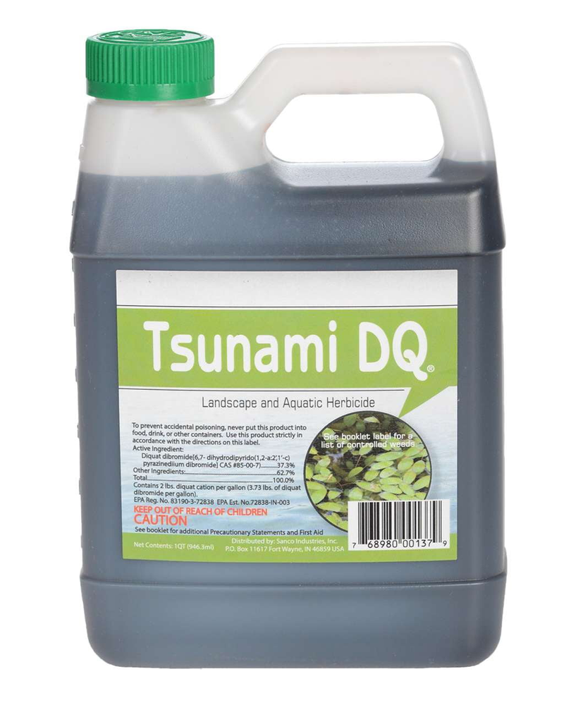 Tsunami DQ (37.3% Diquat) - Smith Creek Lake and Pond