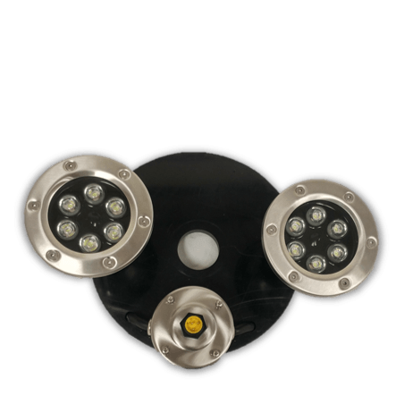 Light Kit with (2) 6-Watt White LED - Smith Creek Lake and Pond