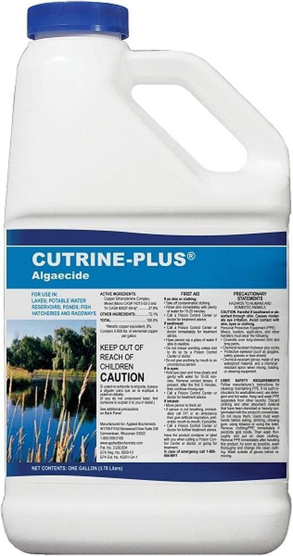 Cutrine® Plus Liquid  - 1 gallon - Smith Creek Fish Farm