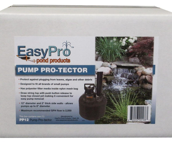 EasyPro Pump Pro-Tector - 12-in. - Smith Creek Fish Farm
