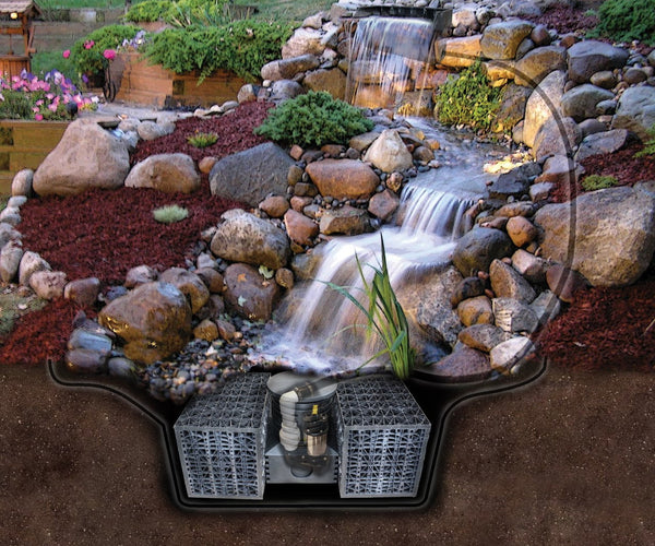 Mini Pond-Less Waterfall Kit