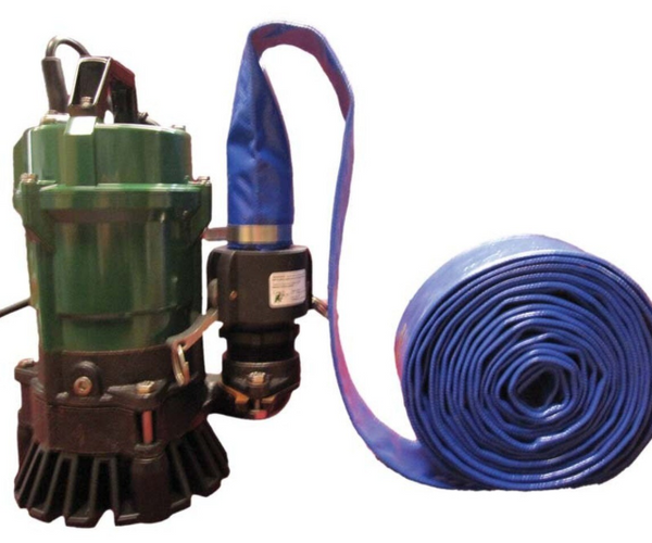 1/2 HP Submersible Pond Trash Pump - 5700 gph-ETP10N