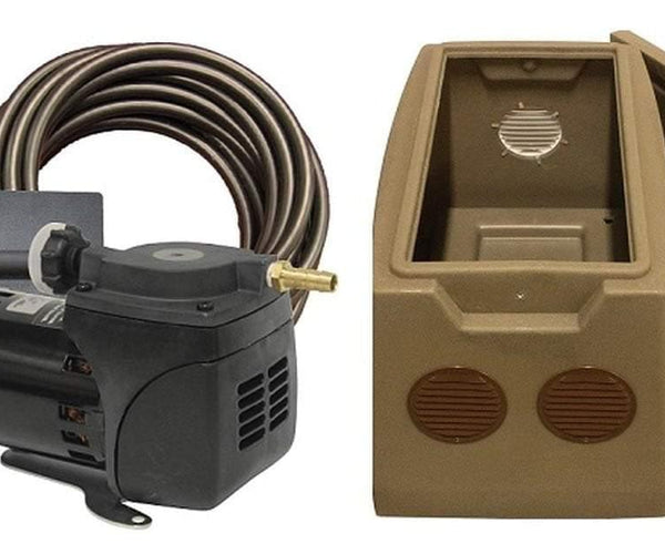 1/20 HP Gast Diaphragm Aerator - 115 volt - Smith Creek Fish Farm