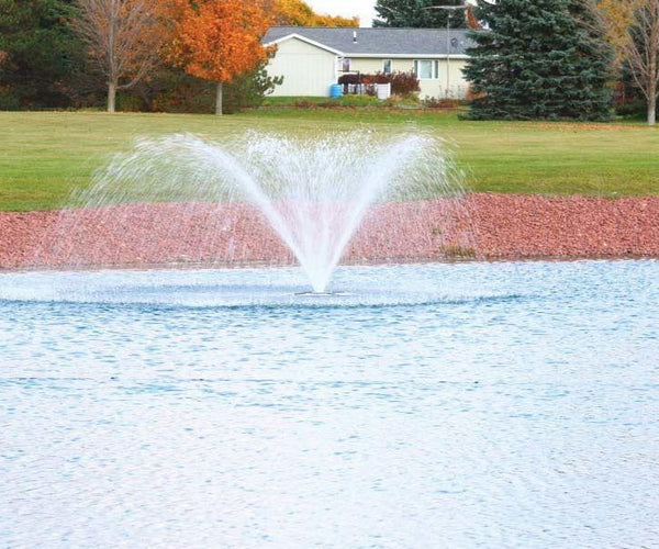 zzMaster Decorative Series - 1/2 hp Fountain with 100' Power Cable - Smith Creek Fish Farm